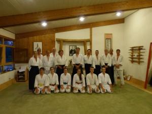 Gruppenbild Uchideshi und Gaeste