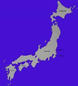 Karte Iwama