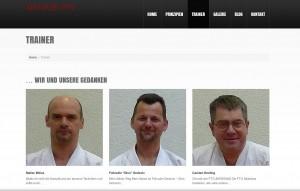 Trainer neue Webseite FTG